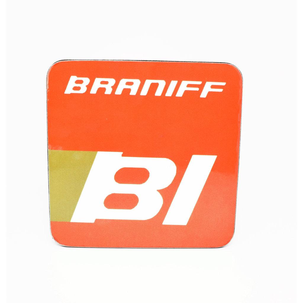 Braniff Logo Vintage Coaster