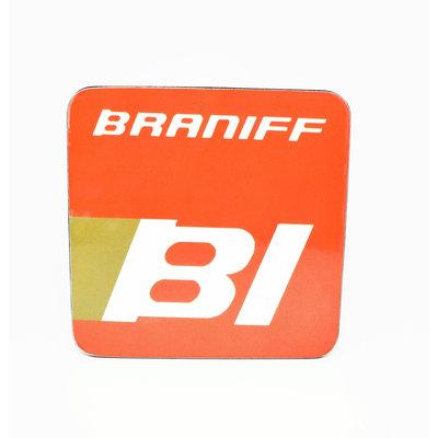 Braniff Logo Coaster