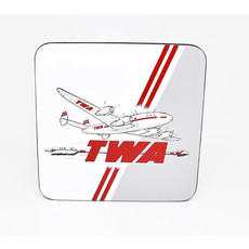 Vintage TWA Connie Coaster