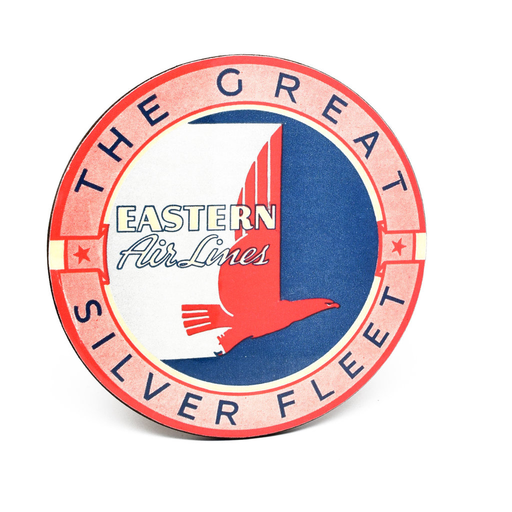 Eastern Airlines Vintage Bag Sticker Coaster