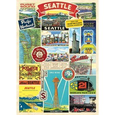 Seattle Collage Wrap & Poster