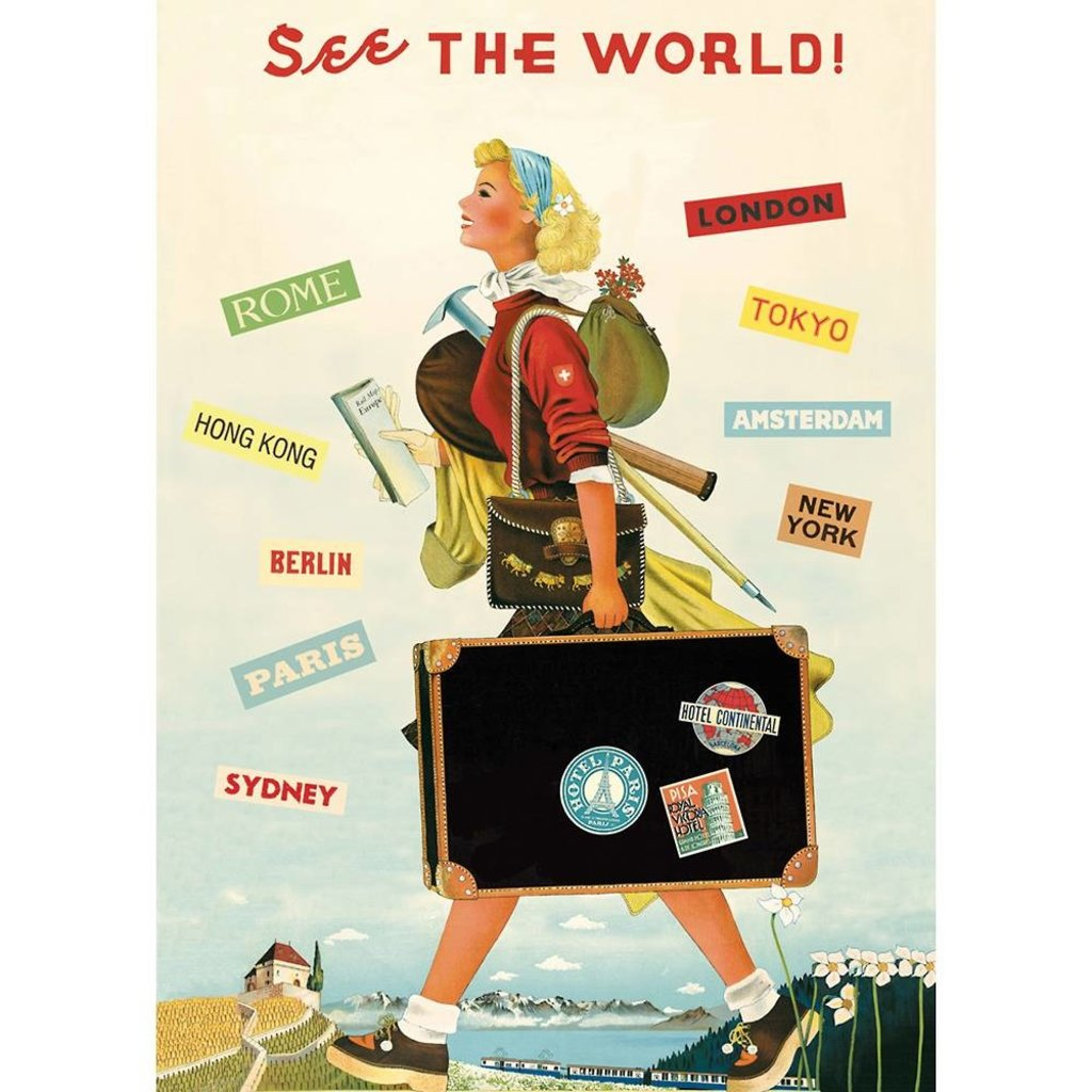 See the World Poster & Wrap