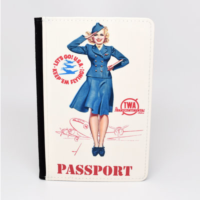 TWA Pin Up Girl Passport Case