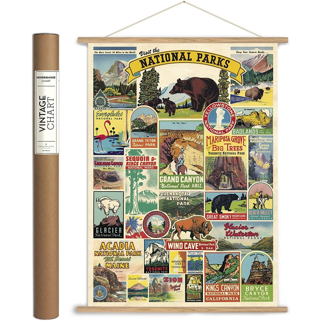 Vertical Vintage Poster Kit