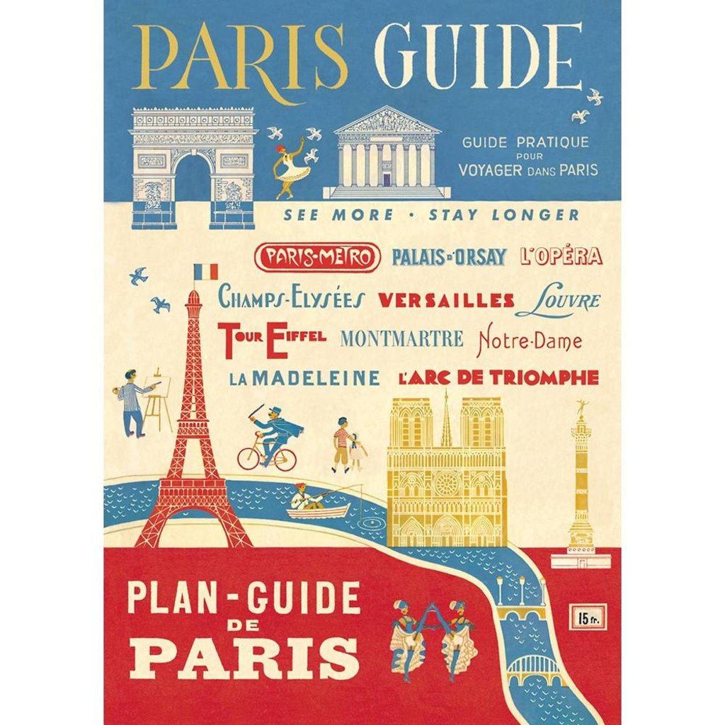 Paris Guide Poster & Wrap