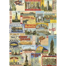 New York City Postcards Poster & Wrap