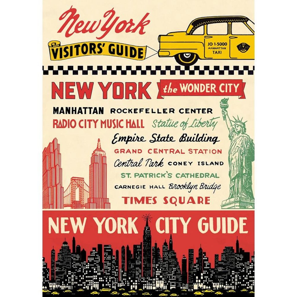 New York City Guide Poster & Wrap