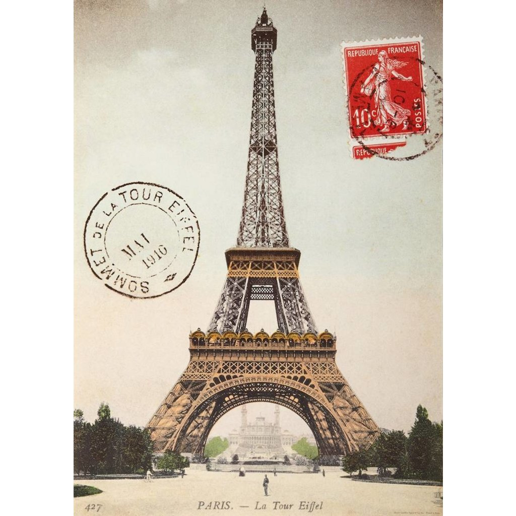 Eiffel Tower Poster & Wrap