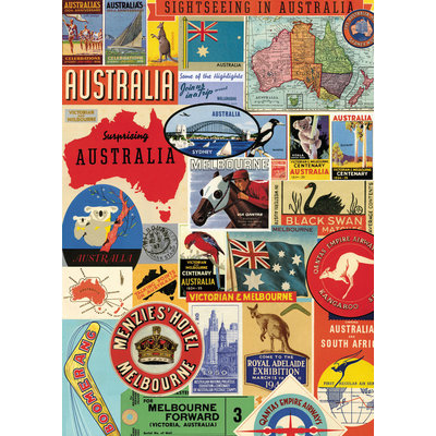 Australia Collage  Poster & Wrap