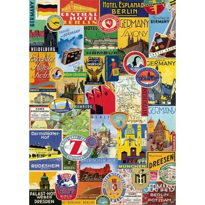 Germany Collage Poster & Wrap