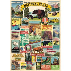 National Parks Poster & Wrap