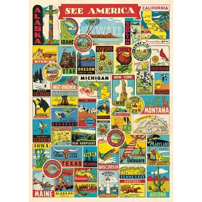 See America Poster & Wrap