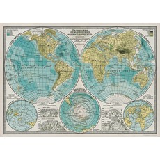 Hemisphere Poster & Wrap