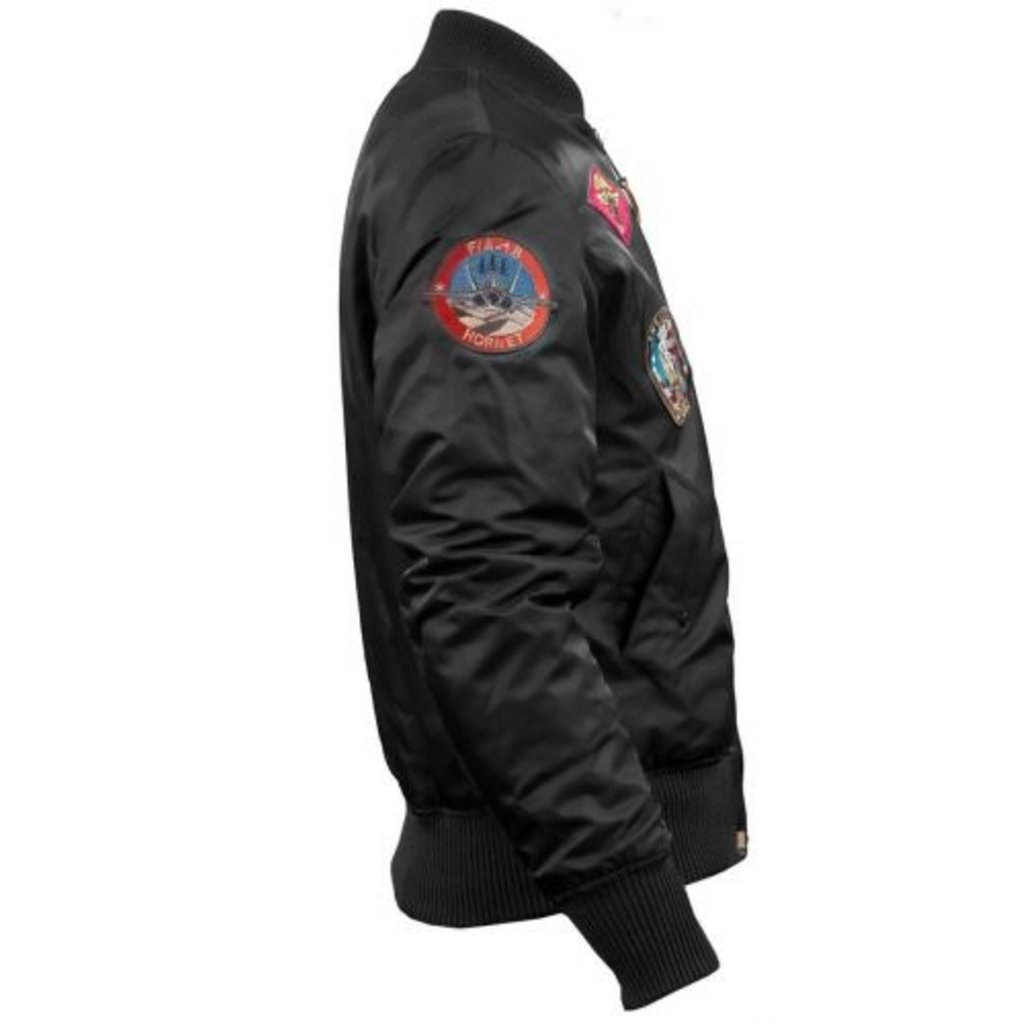 Top Gun MA-1 Bomber with Patches