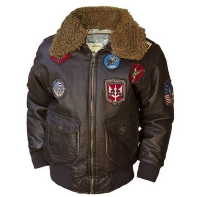 Top Gun® Kids PU Aviator Bomber