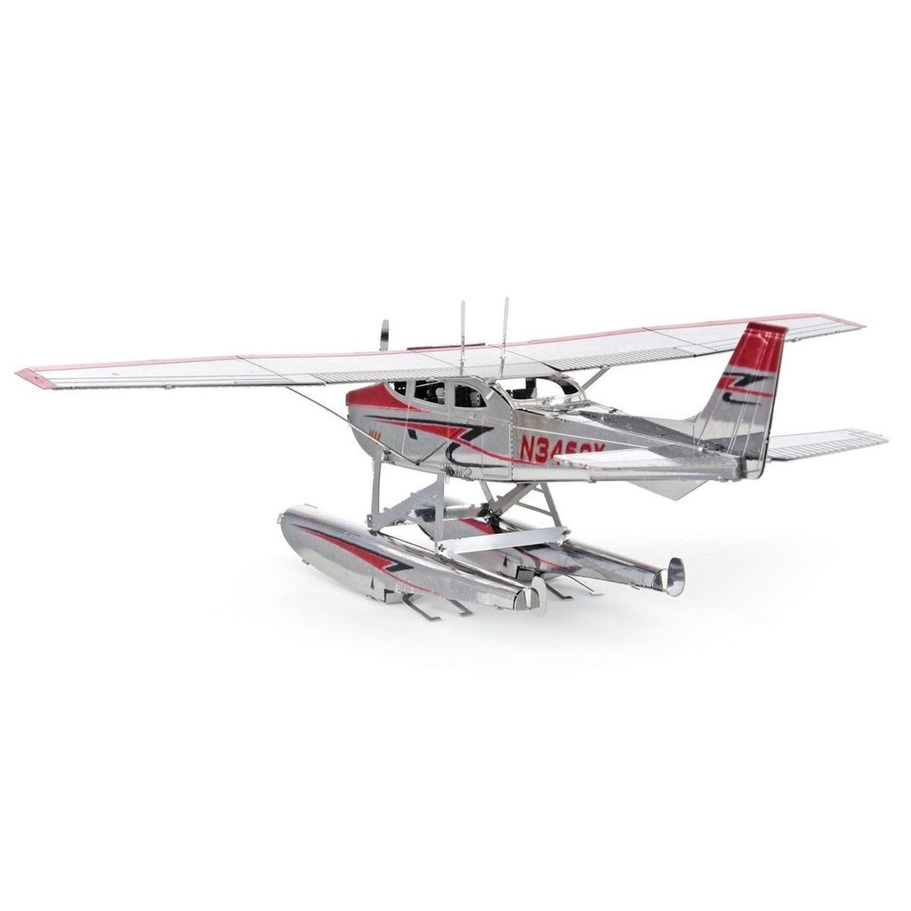 Metal Earth Cessna 182 Floatplane