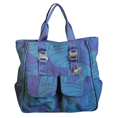Jumpseat Tote Bag Blue Lagoon