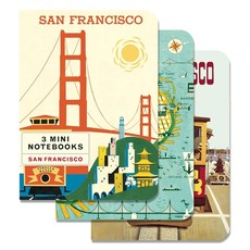 San Francisco Mini Notebooks