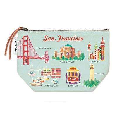 San Francisco Vintage Pouch