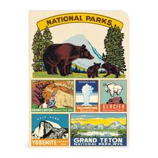 Vintage National Parks Mini Notebooks