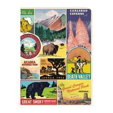 Vintage National Parks 3 Mini Notebooks