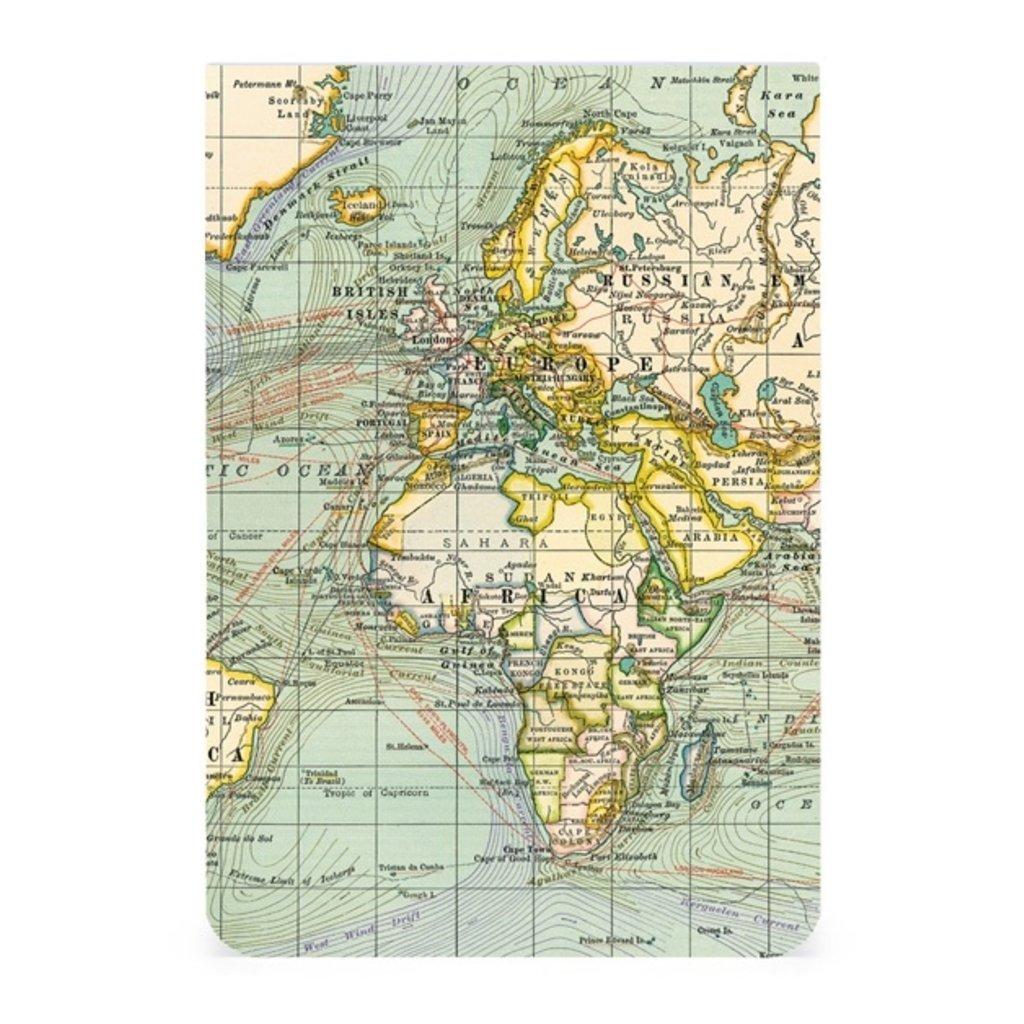 Vintage Maps 2 Pocket Notebooks-Disc.