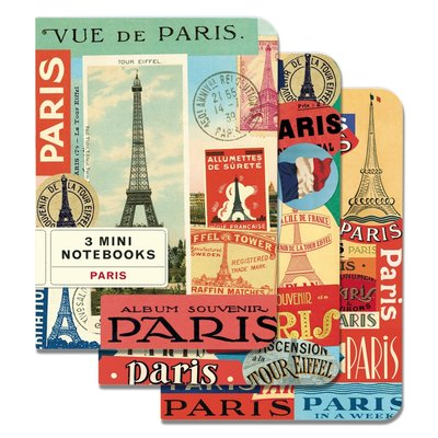 Paris Mini Notebooks