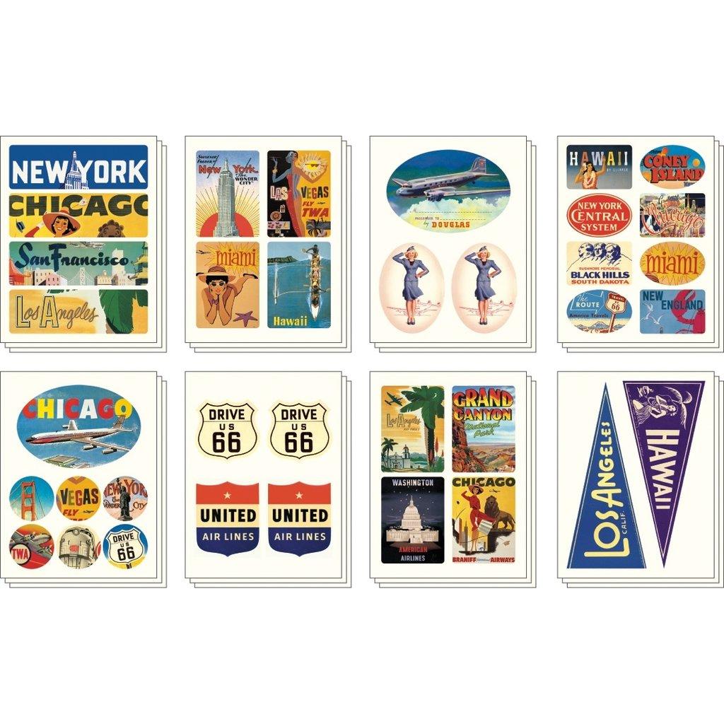 Americana Stickers