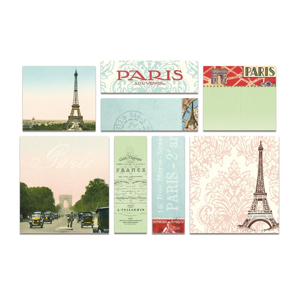 Vintage Paris Sticky Notes