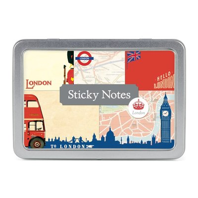Vintage London Sticky Notes