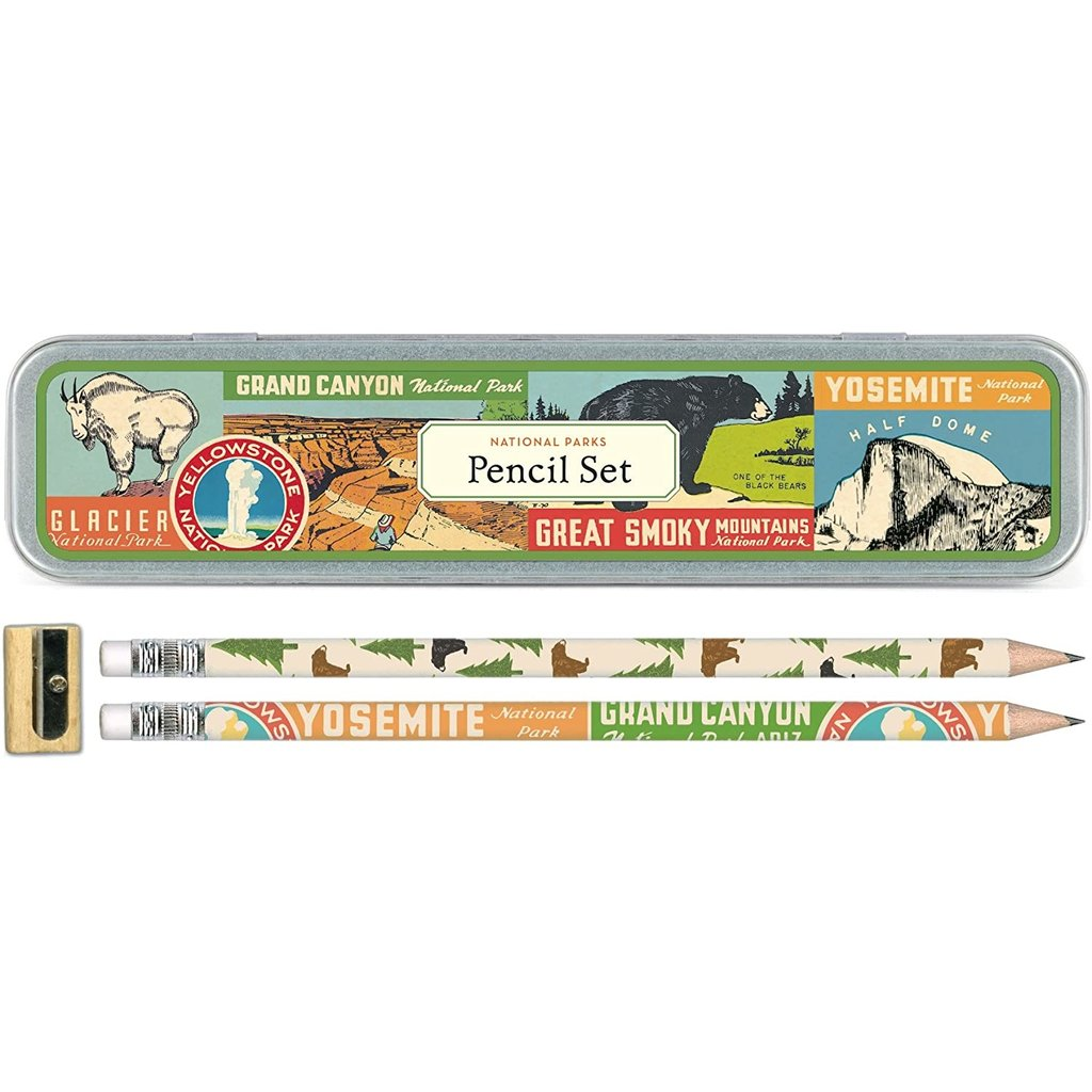 National Parks Pencil Set