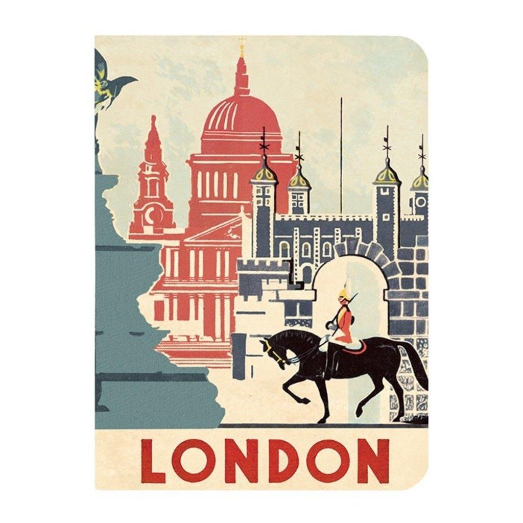 Vintage London Mini Notebooks-Disc