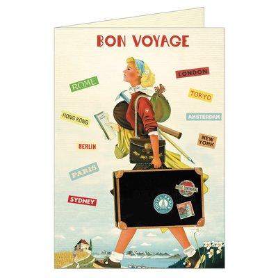 Bon Voyage Greeting Card-Disc.