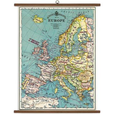 Vintage School Chart Europe