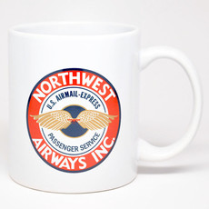 Northwest Airlines 1920's Mug