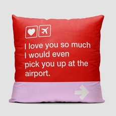I Love you so much Pillow Cover