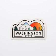 Washington State Die-Cut Sticker