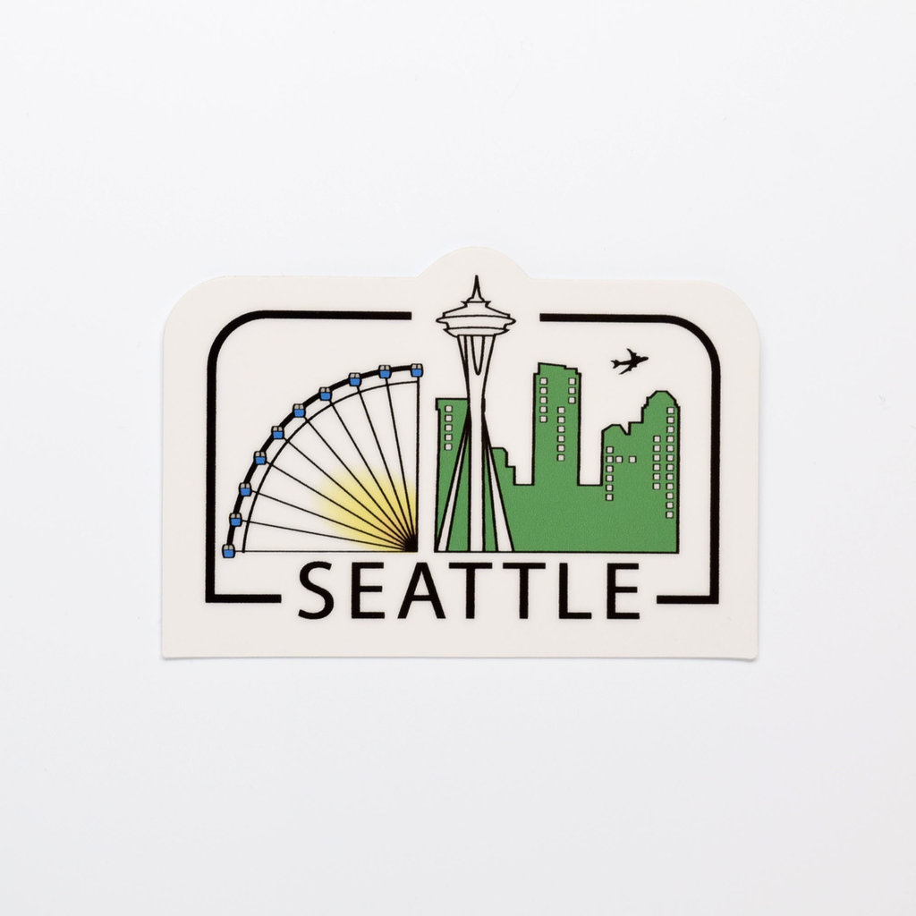 Seattle City Die-Cut Sticker