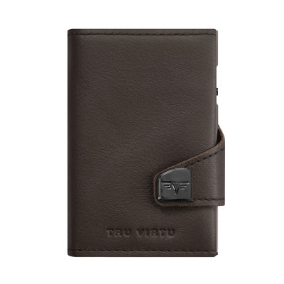 Tru Virtu Click n Slide Leather Nappa Brown
