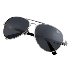 "Top Gun® Aviator ""Runway"" Sunglasses-Silver"