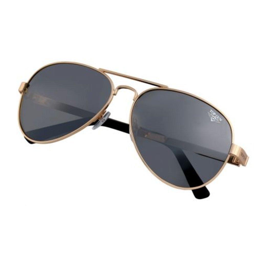 "Top Gun® Aviator ""Runway"" Sunglasses-Gold-Disc"