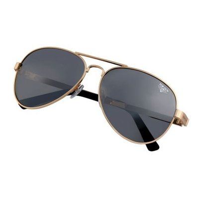 "Top Gun® Aviator ""Runway"" Sunglasses Gold"
