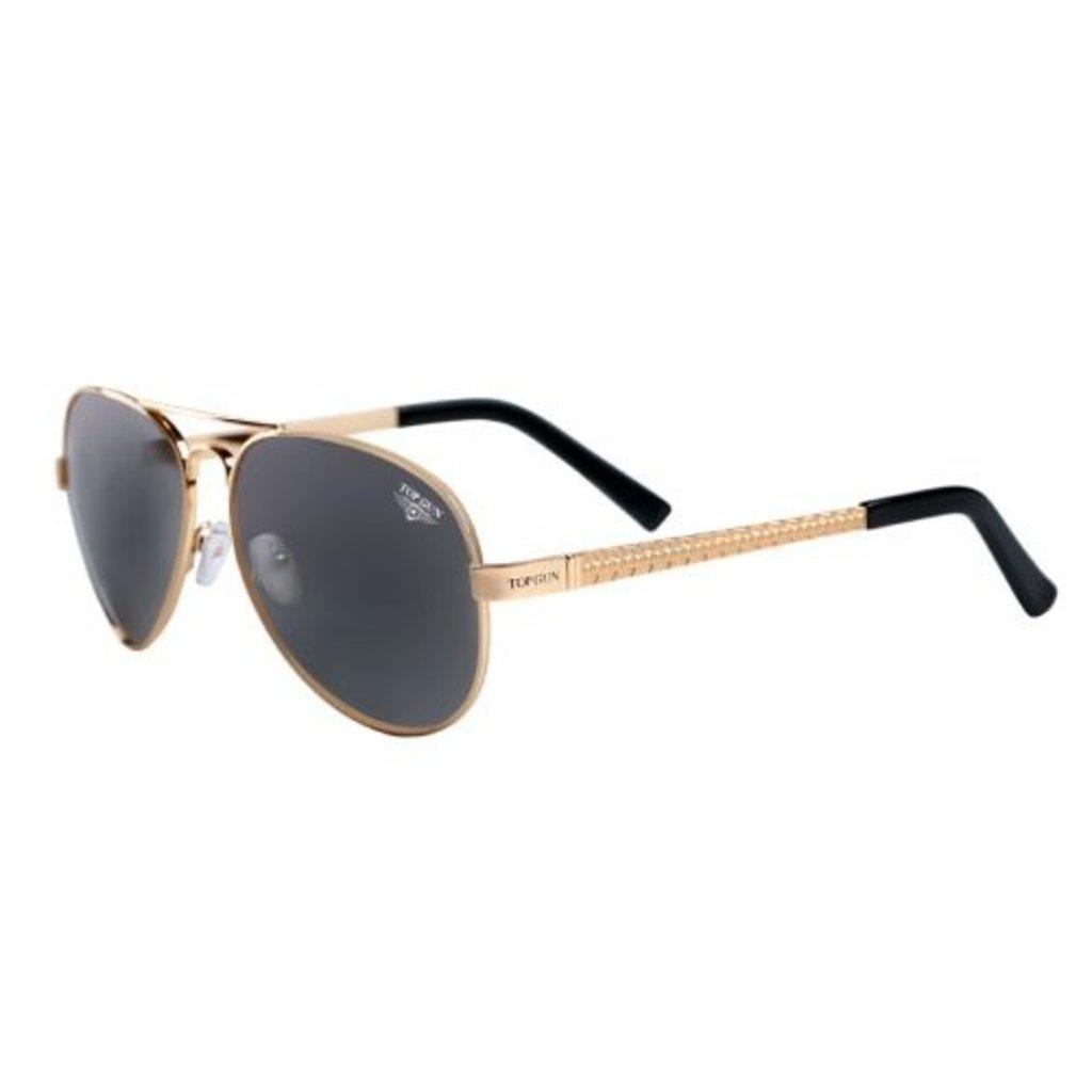 "Top Gun® Aviator ""Runway"" Sunglasses-Gold"