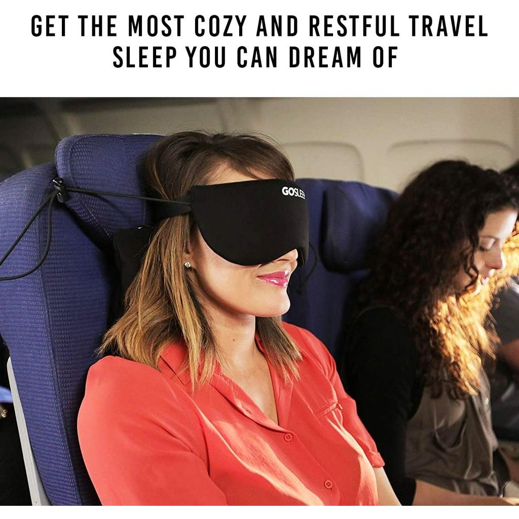 GOSLEEP 2 in 1 Travel Sleep Mask with Memory Foam Pillow-TWA Hong Kong