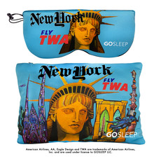 Travel Sleep Mask with Memory Foam Pillow-New York