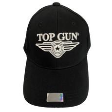 Top Gun® 3D Wing Logo Cap -Black
