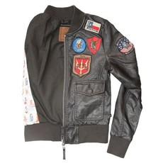 Top Gun® Women's Vegan Leather Bomber