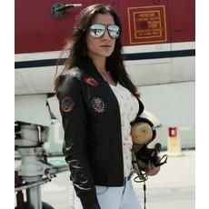 Top Gun® Women's Vegan Leather Bomber