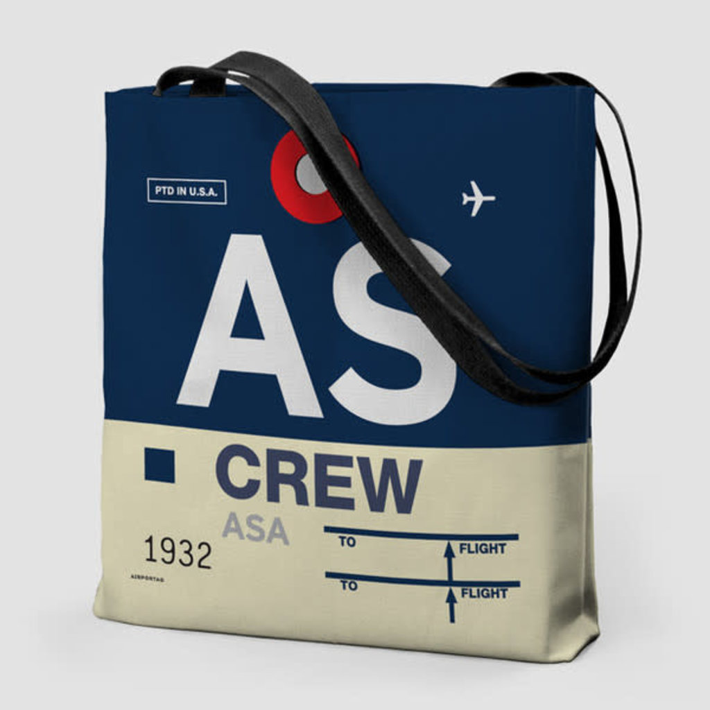 AS Crew Tote Bag