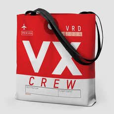 VX Virgin America Tote Bag